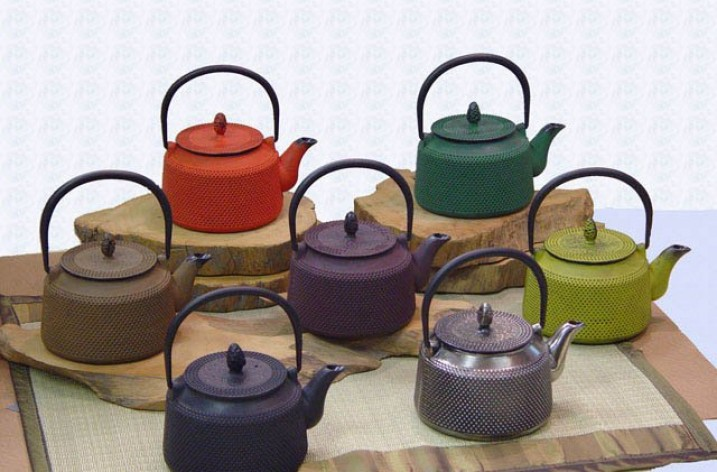 Cast Iron teapots and kettles