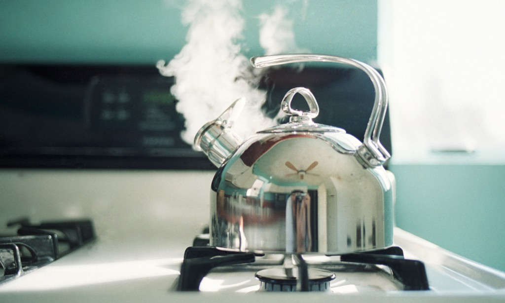 Tea tastes better in which type of kettle?